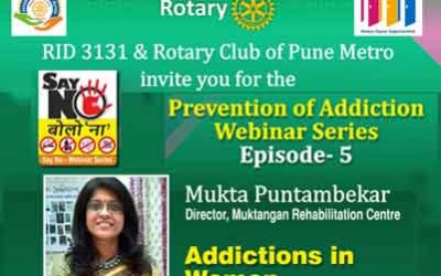 Episode 5 of Web Series on Prevention of Addiction, 4th December 2020