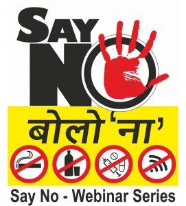 Say No Webinar Series Logo